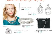 Spend $50-Get HALF OFF OF EACH OF THESE ITEMS!