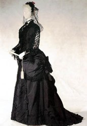 Mourning Dresses (Victorian Age)