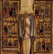 Particolare delle Scene della Passione nel Crocifisso di San Sepolcro