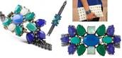 Peacock Bracelet Reg $79 - 50% sale $40