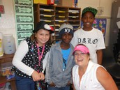 Maddy, Jeremiah, James & Mrs. Phillips