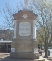 The unknown soldier monument, The Junction, NSW.