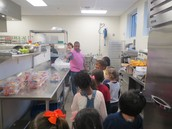 Preparing our yogurt boxes