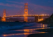 What is the golden gate bridges frist name