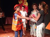 פרויקט מצוינות באנגלית: Shakespeare in Wonderland