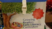 Growing Readers Early Literacy Curriculum