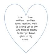 Concrete Love Poem