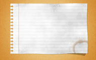 Paper: 1/2 sheet, 1 whole sheet