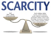 How scarcity affects counties
