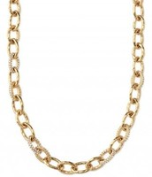 Christina Link Necklace - Gold