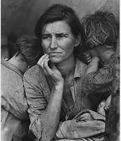 Family during the Great Depression