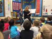 Thank you, Mrs. Ouimette, for being our Mystery Reader!