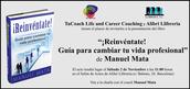 Presentación de ¡Reinvéntate! y charla con el coach Manuel Mata