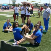 Thanks to the HS Buddies Who Helped with the Special Olympics Track Meet!