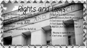 Our rights and laws