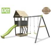 Exit Aksent speeltoren met aanbouwschommel