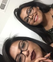 My twin sister and I