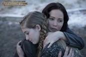 Katniss redt Prim