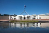 The Parliment House In Canberra