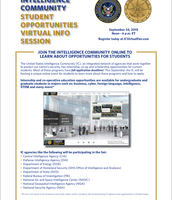 CIA Student Opportunities Info. Session