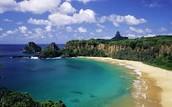 A beach of Brazil