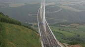 Marathon on The Millau Viaduct