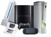 Game Console (Nintendo DS, PSP, Playstation 3, Xbox 360, Nintento Wii)