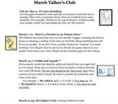 Talker's Club