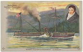 Robert Fulton and the Clermont (Steamboat)