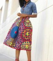 Afrikaanse print