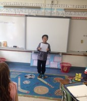 Diego was the Poet of the Week!