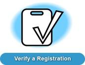 Verify a Registration