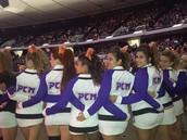 PCM all stars cheer