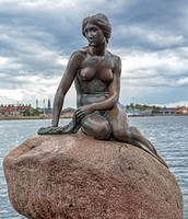 The Little Mermaid by Edvard Eriksen