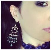Vintage Lace Chandelier Earrings now $12