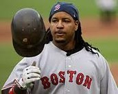 Manny used to be on the Boston Red Sox