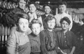 Women working at the mills