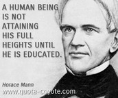 Famous Quote from Horace Mann