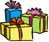 Open you gifts!