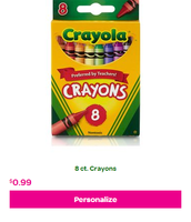 8-Pack of Crayola Crayons