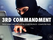 Computer Commandment #3