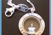 Little Princess Birthday Party with Jewelry Lockets