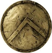 This is a Spartans shield.