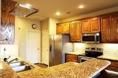 Fantastic Kitchen . Granite
