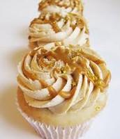 butterscotch cupcake