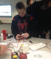 Making a potato circuit!