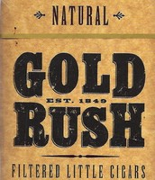 A gold rush sign