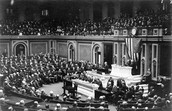 April 2, 1917 - President Wilson Ask Congress To Declare War On Germany