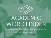 Academic Word Finder