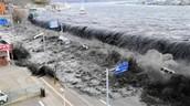 Tsunami in 2011
